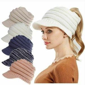 Woman's Winter Warmer Knit Hat_IMG4