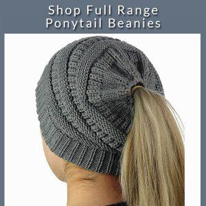 ponytail beanies